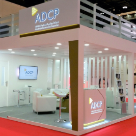 Double Decker Exhibition Stand - ADCB