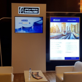 Exhibition Stand - Emirates NBD