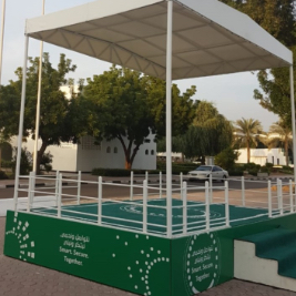 Stage With Shed - Dubai Police